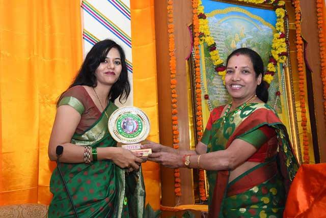 Hariyali Teej Celebration under the banner Sahasrasheersha Devi Mandal, female wing of Maharishi World Peace Movement. SDM, Bhopal unit organised this programme.
