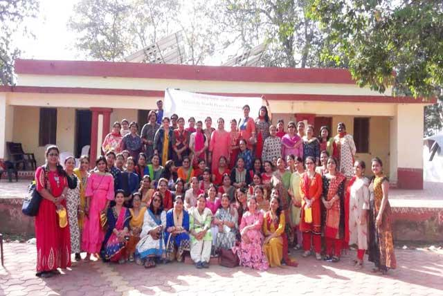 Sahasrasheersha Devi Mandal, female wing of Maharishi World Peace Movement celebrated International Womenâ??s Day at Samardha Jungle Camp with various activities.