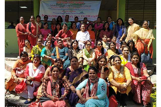 Sahasrasheersha Devi Mandal, female wing of Maharishi World Peace Movement celebrated International Women's Day at Kerwa Dam on 08th March 2020.