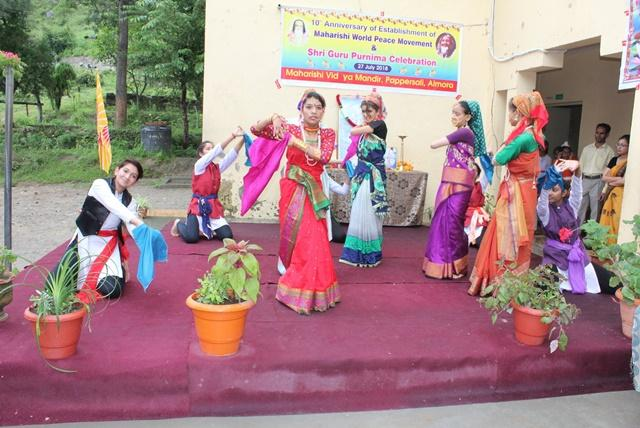 Celebration of Maharishi World Peace Day at MVM Almora we gracefully celebrated the occasion of Maharishi World Peace Movement.