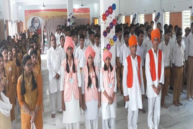 Celebration of Maharishi World Peace Day at MVM Sultanpur we gracefully celebrated the occasion of Maharishi World Peace Movement.